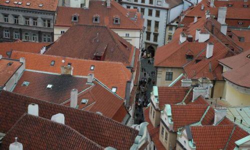 Zdjecie CZECHY / Praga / rynek / uliczka