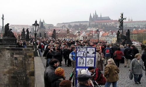 CZECHY / brak / Praga / Most Karola