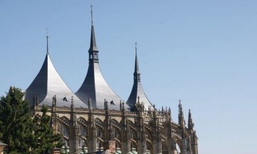 Zdjęcie CZECHY / Kutna Hora / Kościół św. Barbary / Chrám sv. Barbory
