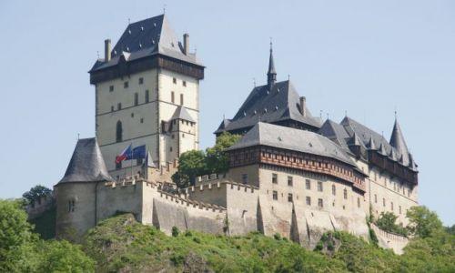 Zdjecie CZECHY / okolice Pragi / Karsztejn / Najpiękniejszy czeski zamek I