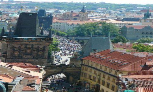 Zdjecie CZECHY / Praga / okolice Mostu Karola / Praga inaczej