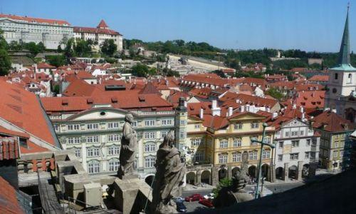 Zdjecie CZECHY / Praga / okolice Mostu Karola / Praga z wieży