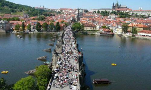 Zdjecie CZECHY / Praga / okolice Mostu Karola / Most Karola