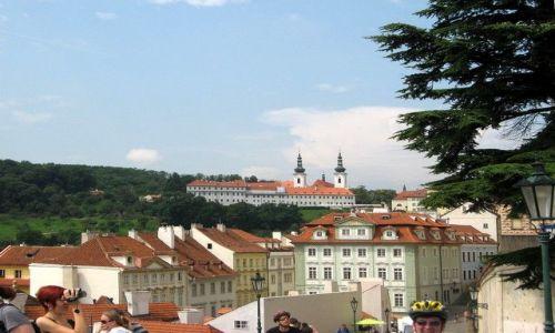 Zdjecie CZECHY / Czechy Środkowe / Praga / panorama miasta z hradczańskiego wzgórza