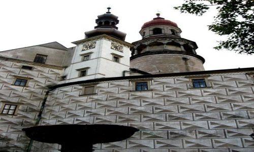 Zdjęcie CZECHY / Hradecki Kraj / Nachod / Wieże nachodzkiego zamku