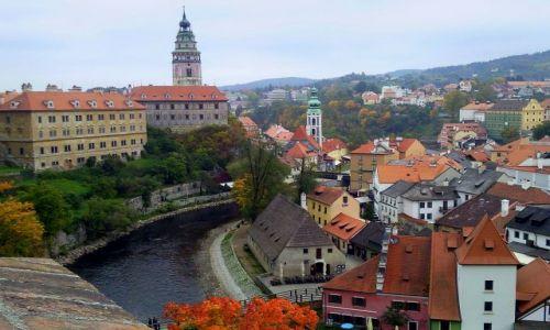 Zdjęcie CZECHY / Czechy południowe / Krumlow / Czeski Krumlow