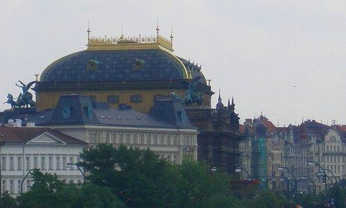 Zdjecie CZECHY / Czechy Środkowe / Praga / widok z mostu