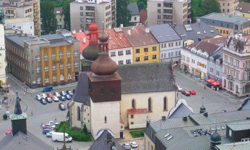 Zdjecie CZECHY / kralowo-hradecki / Nachod / widok z zamku