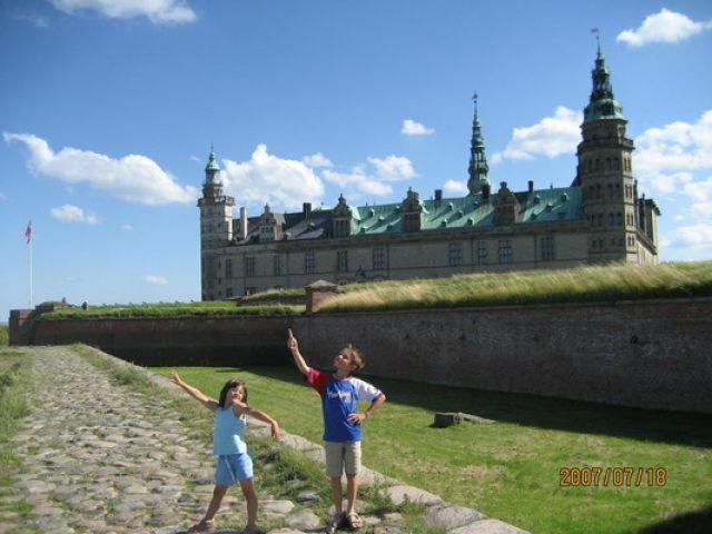 Zdjęcia: ., Helsingor, Inscenizacja Hamleta wg moich dzieci, DANIA