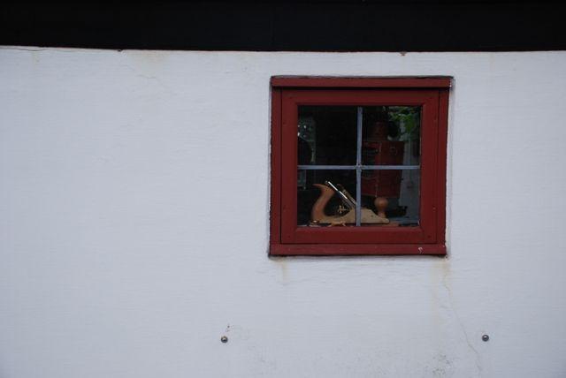 Zdj�cia: Bornholm , Bornholm, okienko , DANIA
