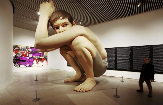 Zdjęcia: Muzeum Sztuki ARoS, Aarhus, Chłopiec, DANIA