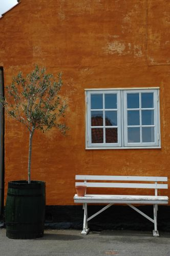 Zdjęcia: Svaneke, Bornholm, ławka, DANIA