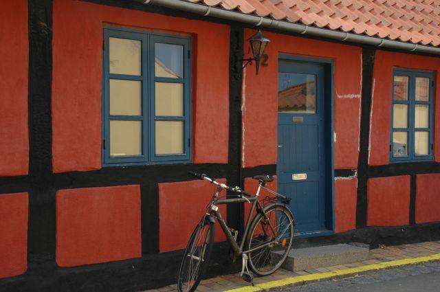 Zdjęcia: Ronne, Bornholm, rower, DANIA