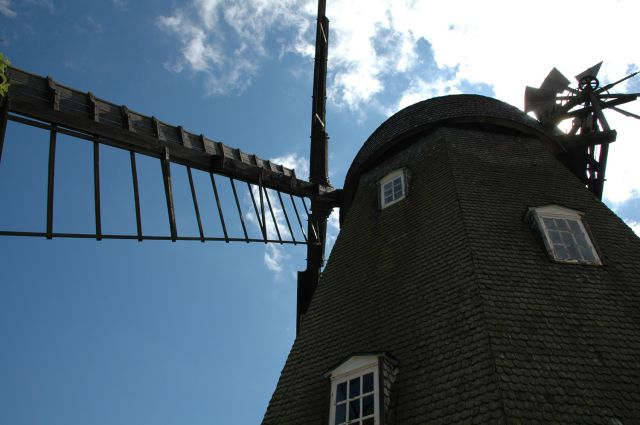 Zdjęcia: Svaneke, Bornholm, wiatrak, DANIA