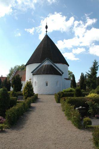 Zdjęcia: Olsker, Bornholm, kościół rotundowy, DANIA
