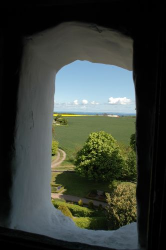 Zdjęcia: Ostermarie, Bornholm, okno, DANIA