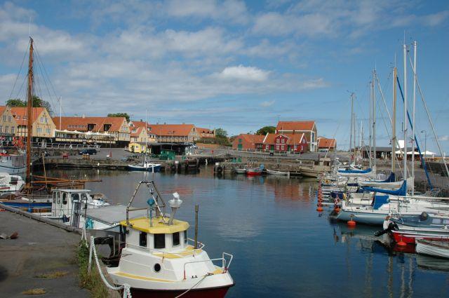 Zdjęcia: Svaneke, Bornholm, port, DANIA