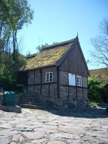 Zdjęcia: Bornholm, Rybacka chata., DANIA