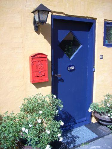 Zdj�cia: Bornholm, Drzwi., DANIA