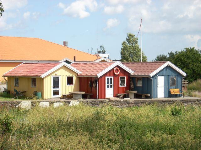 Zdj�cia: Balka, Bornholm, Bornholmskie domki., DANIA