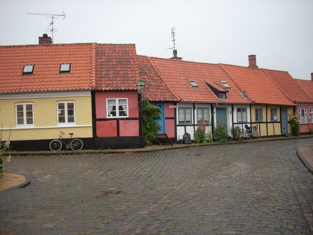 Zdjęcia: Ronne, Bornholm., Bornholm. Mały domek., DANIA