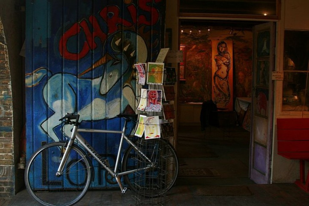 Zdjęcia: Christiania, Kopenhaga, I love Christiania, DANIA