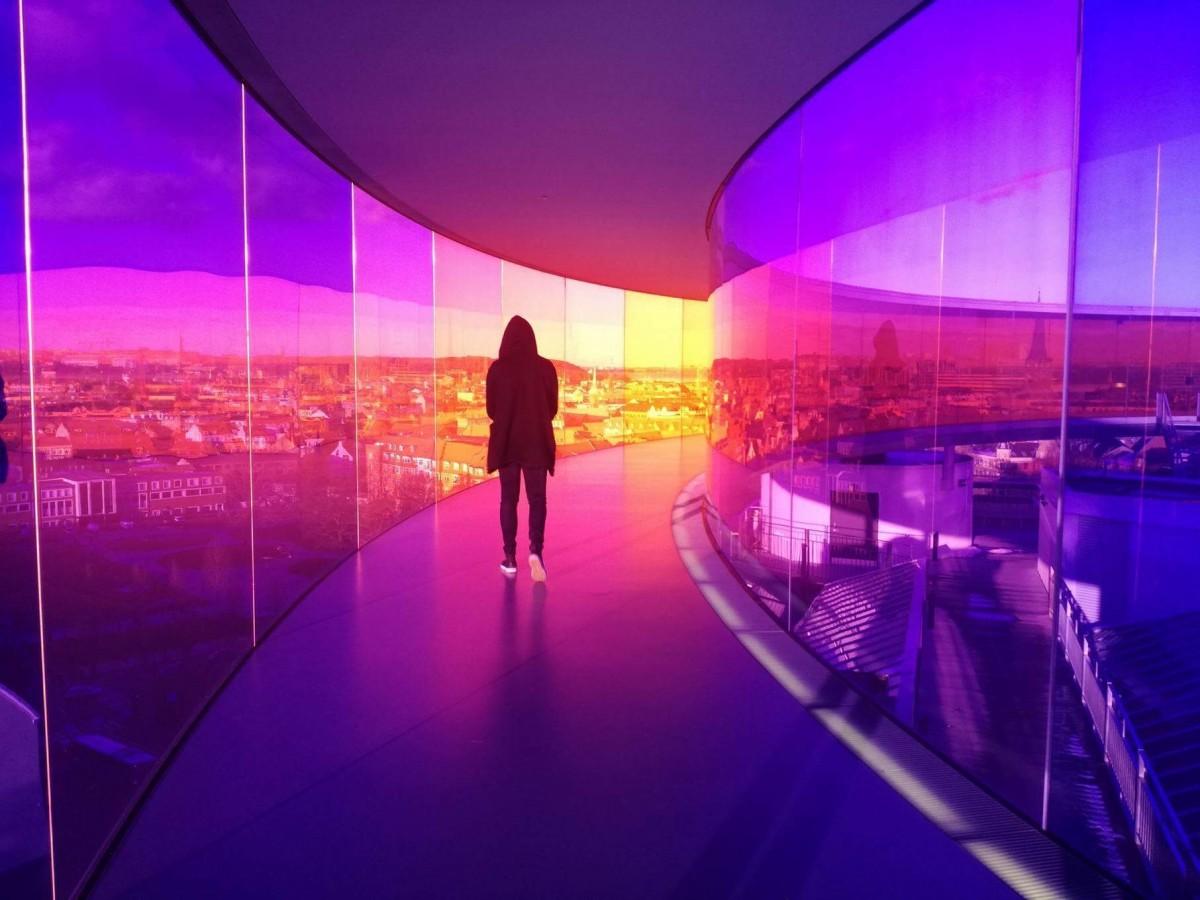 Zdjęcia: ARoS , Aarhus, Kolorowych świat, DANIA