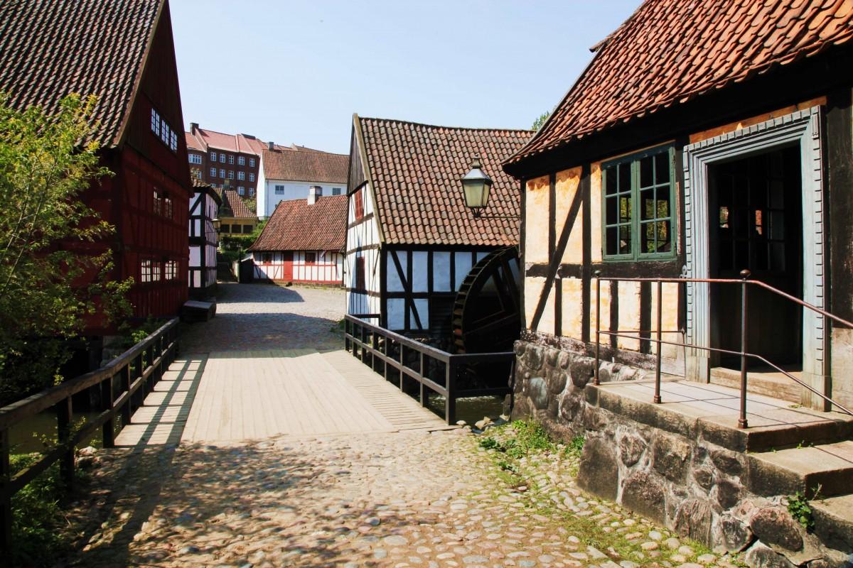Zdjęcia: Stare Miasto, Aarhus, Obok młyna, DANIA