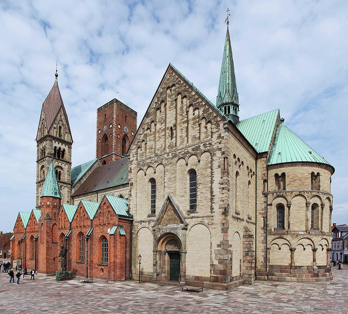 Zdjęcia: Ribe, Południowo-zachodnia Jutlandia, Katedra, czyli Kościół Naszej Pani, DANIA