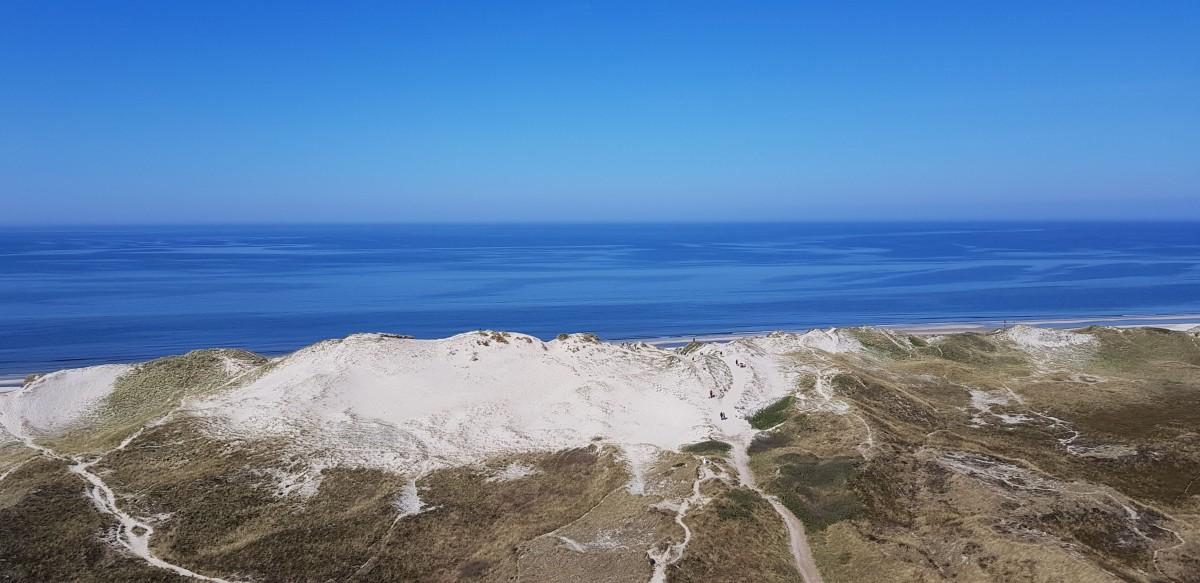 Zdjęcia: Okolice Norre Lyngvig, Środkowa Jutlandia , Biały jak mąka, DANIA