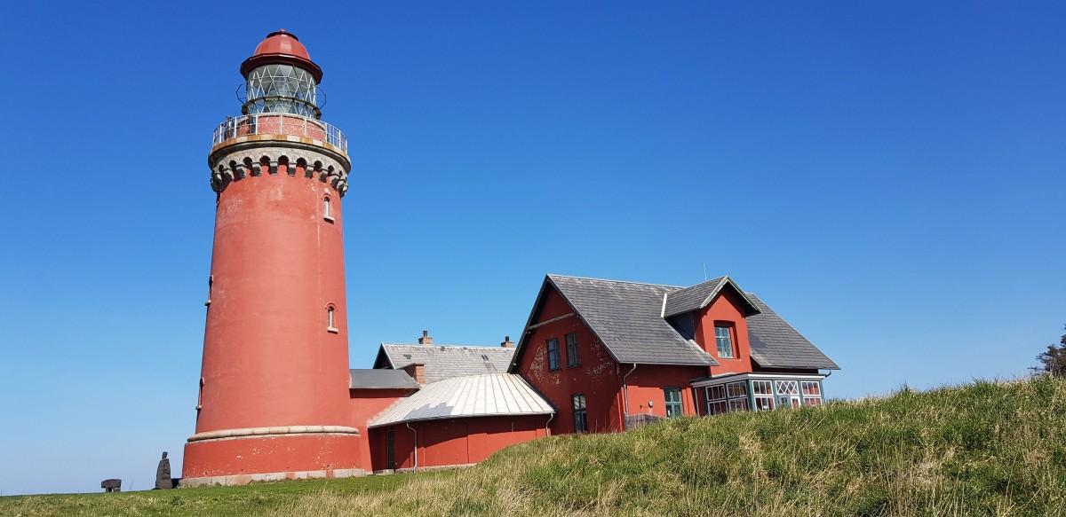 Zdjęcia: Okolice  Ferring, Środkowa Jutlandia , Latarnia morska Bovbjerg , DANIA