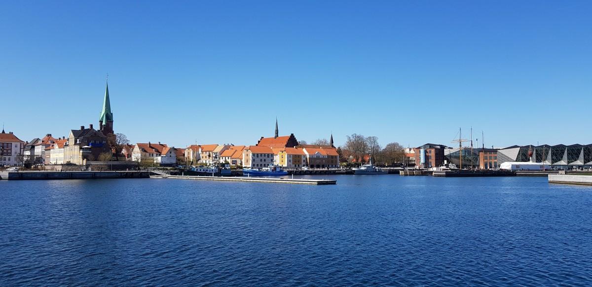 Zdjęcia: Port jachtowy w Helsingor, Wschodnia Dania, Helsingor, DANIA