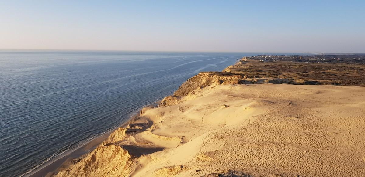 Zdjęcia: Widok z Latarni Morskiej Rubjerg  Knude , Północna Jutlandia, Na Zachodzie, bardziej na Północ , DANIA