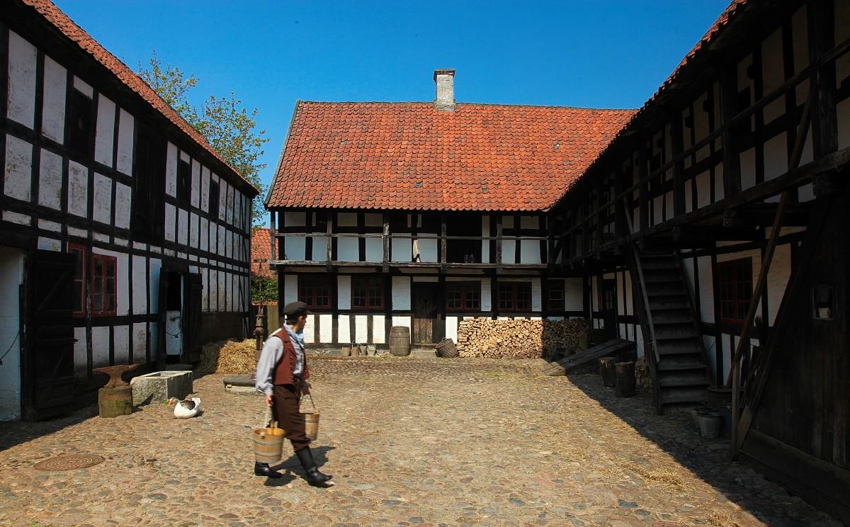 Zdjęcia: Stare miasto, Aarhus, Jak za dawnych lat, DANIA