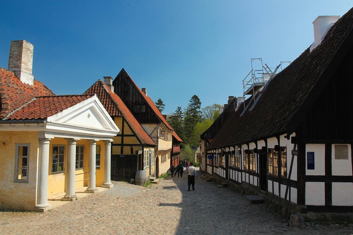 Zdjęcia: Stare miasto, Aarhus, Uliczka, DANIA