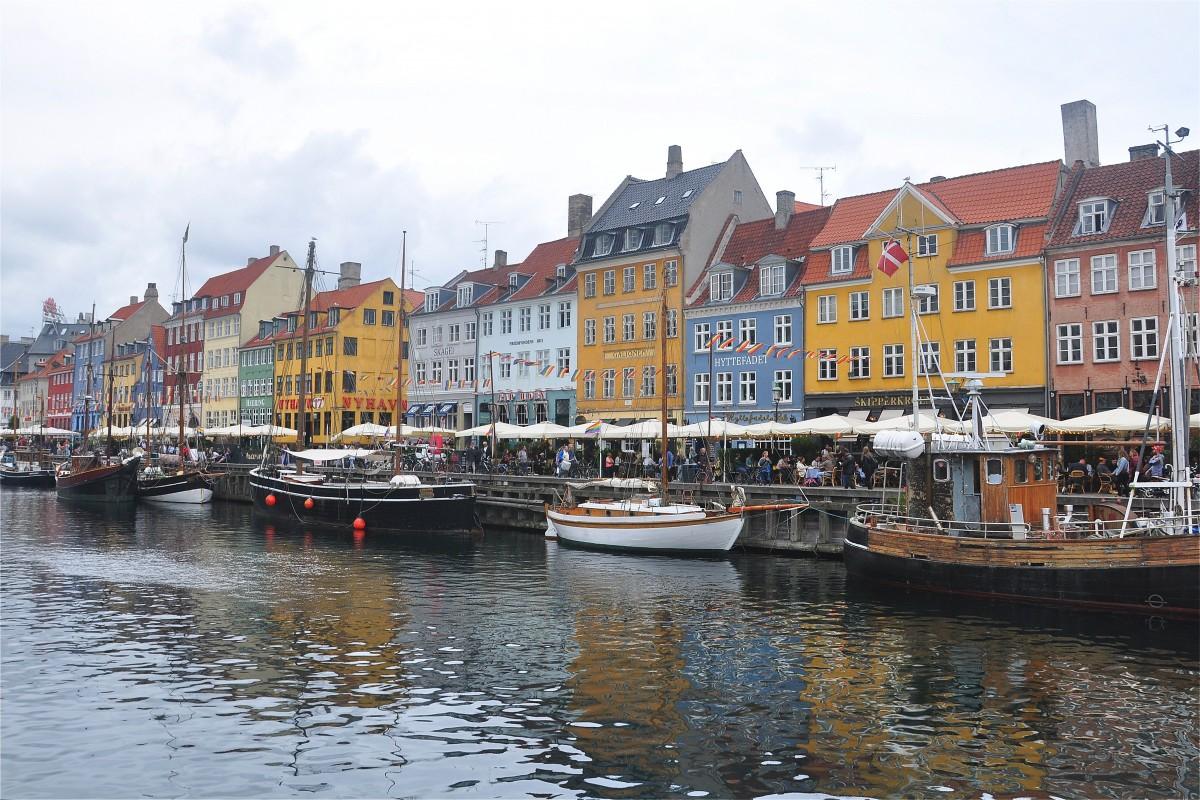Zdjęcia: Kopenhaga, Zelandia, Nyhavn w Kopenhadze, DANIA
