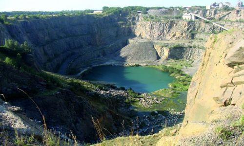 Zdjecie DANIA / Wyspa Bornholm / Jeden z wielu kamieniołomów granitu / To nie Grand Canion
