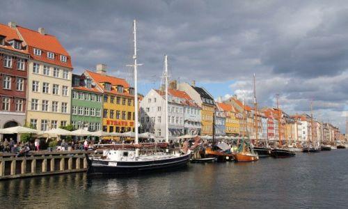 Zdjęcie DANIA / Kopenhaga / Nyhavn / Kolory Kopenhagi