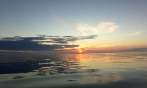 Zdjecie DANIA / Jutlandia / Morze Północne / niebo nad morzem