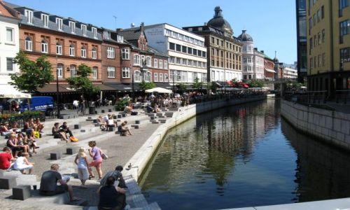 DANIA / Jutlandia Środkowa / Półwysep Jutlandzki / Aarhus