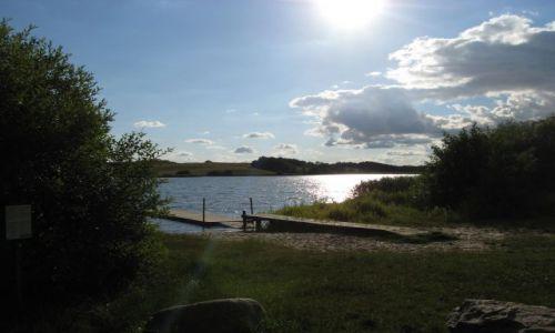 DANIA / gmina w Danii  w okręgu Vejle Amt. / Braedstrup / Jezioro