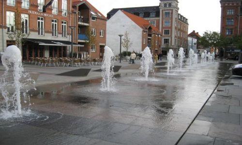 Zdjęcie DANIA / Dania Południowa, wschodnia Jutlandia / Fredericia / Fontanna