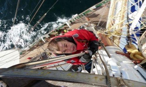 Zdjęcie DANIA / Morze Północne / Dar Młodzieży  / Odwaga ;)