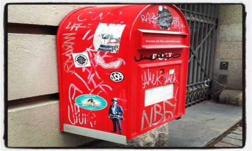 Zdjecie DANIA / Kopenhagen / city  / wrzuciłeś Krzysiu list do skrzynki, jak prosiłam?