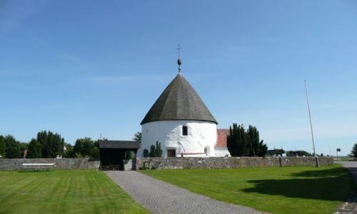 Zdjęcie DANIA / Bornholm / okolice Hammerode / Świątynia romańska