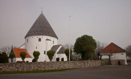 Zdjecie DANIA / Bornholm / Olsker / kościół