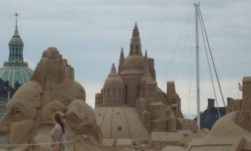 Zdjęcie DANIA / Zelandia / Kopenhaga / Zamki z piasku