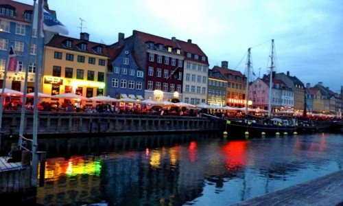 Zdjecie DANIA / Kopenhaga / Nyhavn / Promenada