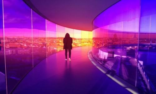 Zdjecie DANIA / Aarhus / ARoS  / Kolorowych świat