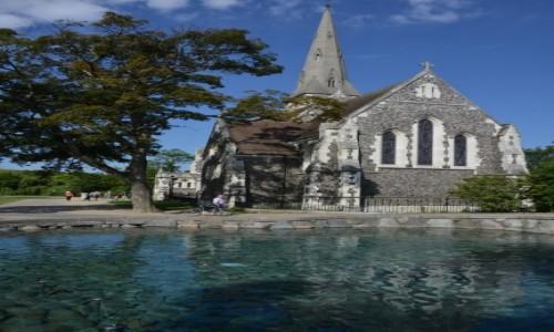 Zdjecie DANIA / XXX / Kopenhaga / Kościół przy fontannie Gefion Kopenhaga